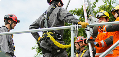 confined space workers